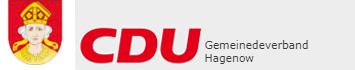 Logo: CDU Gemeindeverband Hagenow